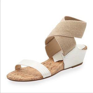 Donald Pliner Eeva crisscross stretch wedge sandal